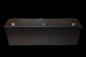 Polaris Ranger Storage Box Black Powdercoat weatherproof, lockable, secure, utv