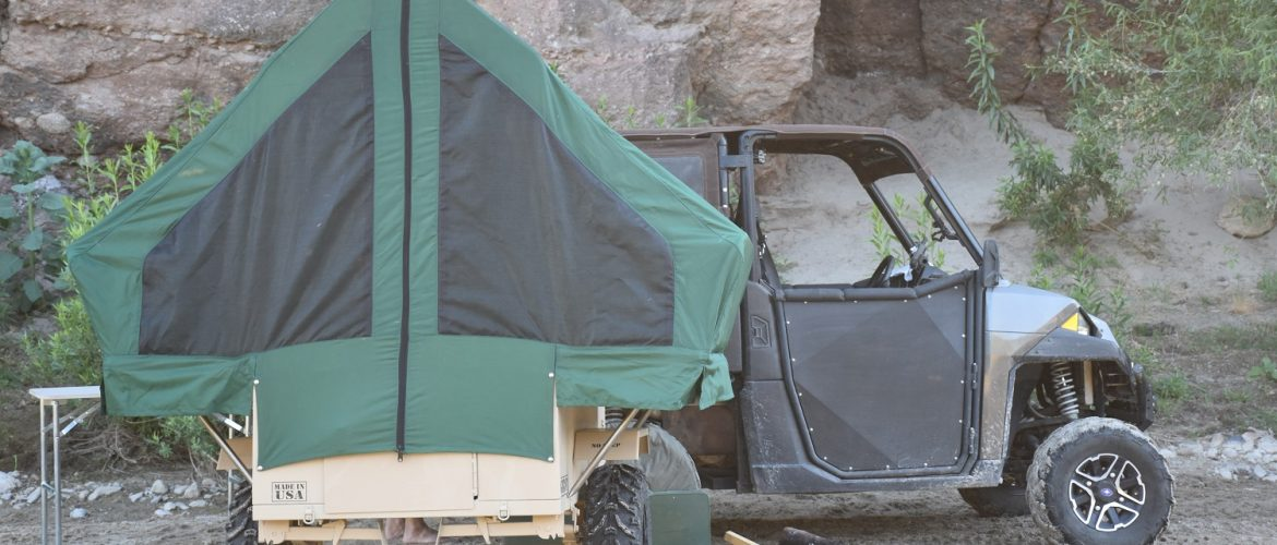 Ghost M1 Tactical Off-Road UTV ATV Pop Up Camper