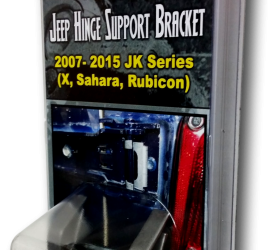 Jeep Hinge Support Brackets