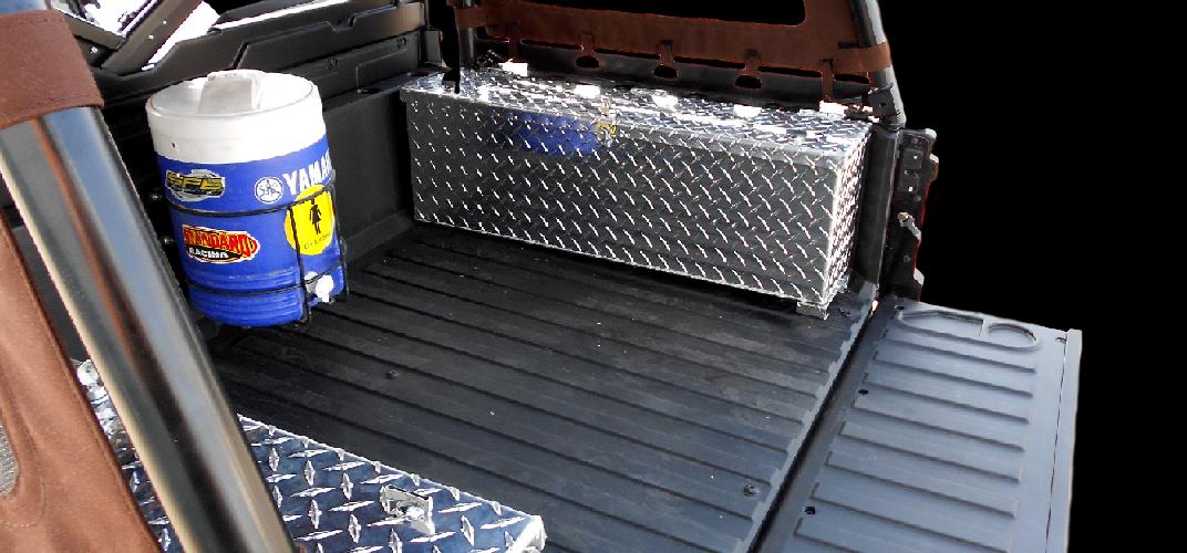 Polaris Ranger Rear Caro Custom Aluminum Storage Box Lockable Secure
